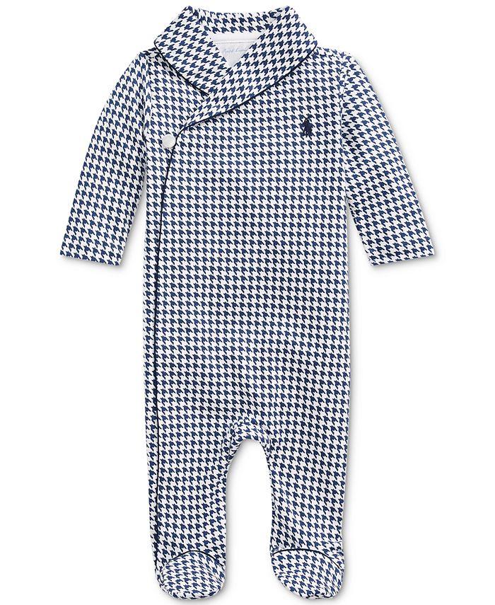 Polo Ralph Lauren - Baby Boys Interlock Printed Shawl Coverall