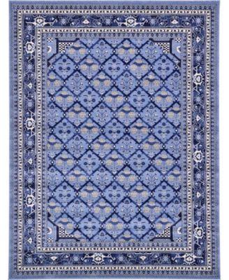 Aldrose Ald2 Blue 7' x 10' Area Rug