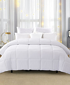 Unikome 600 Fill Power 75% White Down Year Round Comforter, Size- Twin