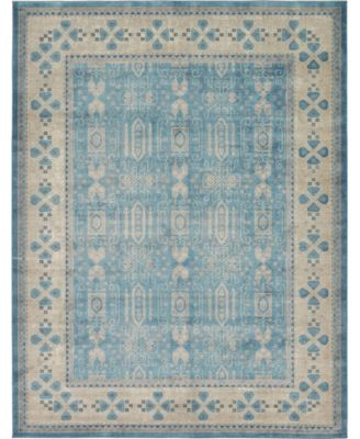 Bellmere Bel1 Light Blue 4' x 6' Area Rug