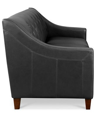 Claudia II Leather Sofa Furniture Macy's
