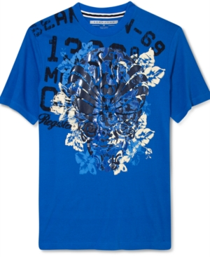 Sean John Shirt Floral Majesty Short Sleeve T Shirt