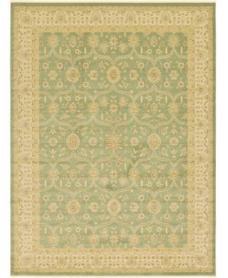 Orwyn Orw6 Light Green 8' x 8' Round Area Rug