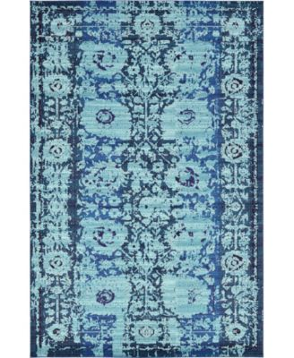 Sana San4 Turquoise 10' x 13' Area Rug