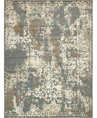 Tabert Tab1 Gray 4' x 6' Area Rug