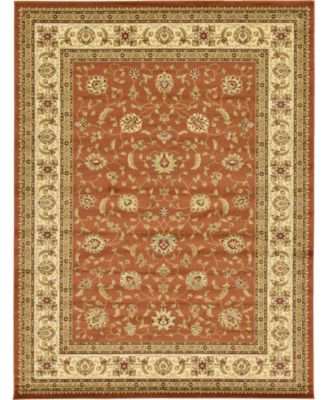 Passage Psg4 Brick Red 9' x 12' Area Rug