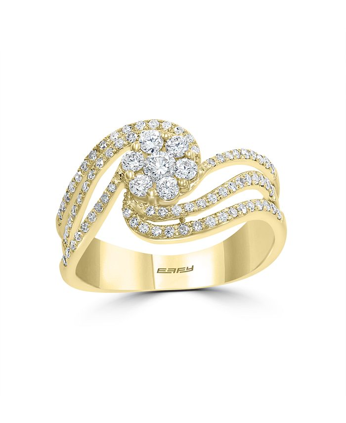 EFFY Collection - BOUQUET By EFFY Diamond Ring in 14k Yellow Gold