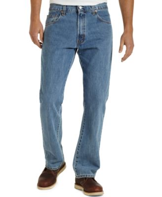 Levi's 517 Bootcut Fit Medium-Stonewash Jeans - Jeans - Men - Macy's