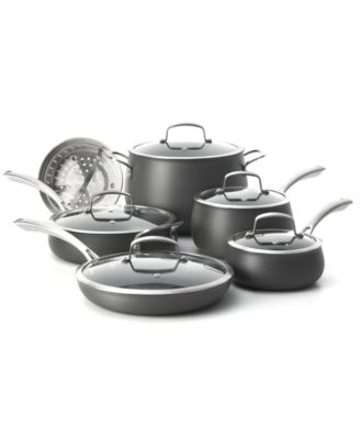 Belgique Hard Anodized 11-Pc. Cookware Set, Only at Macy's