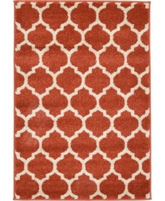 Arbor Arb1 Light Terracotta 8' x 11' Area Rug