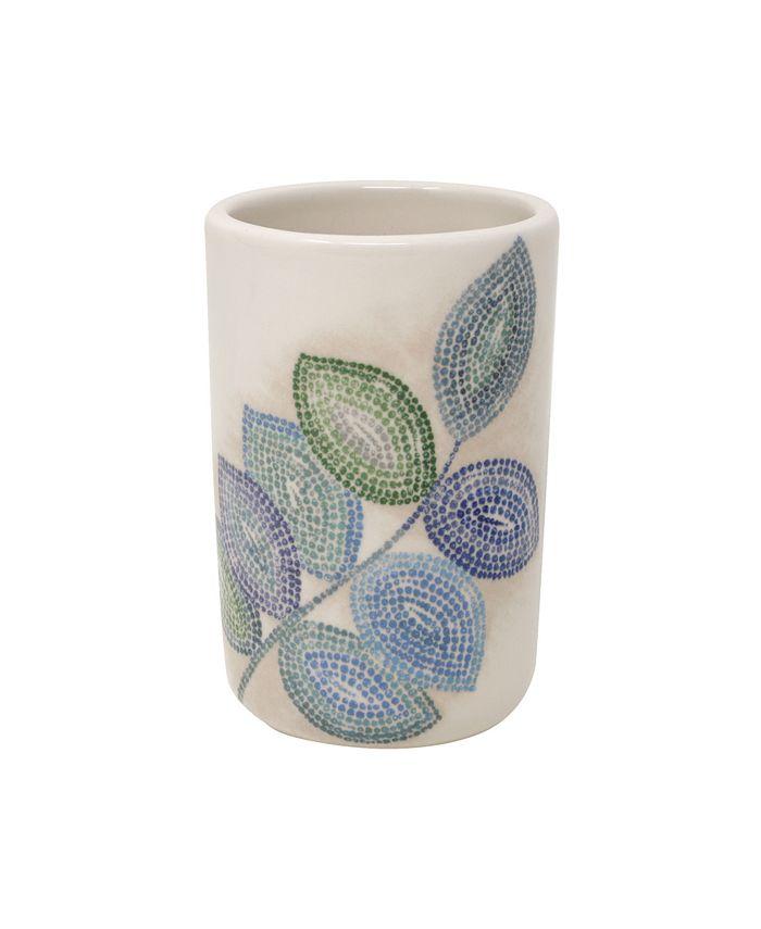 Croscill Mosaic Leaves Spa Tumbler Reviews Bathroom Accessories Bed Bath Macy S