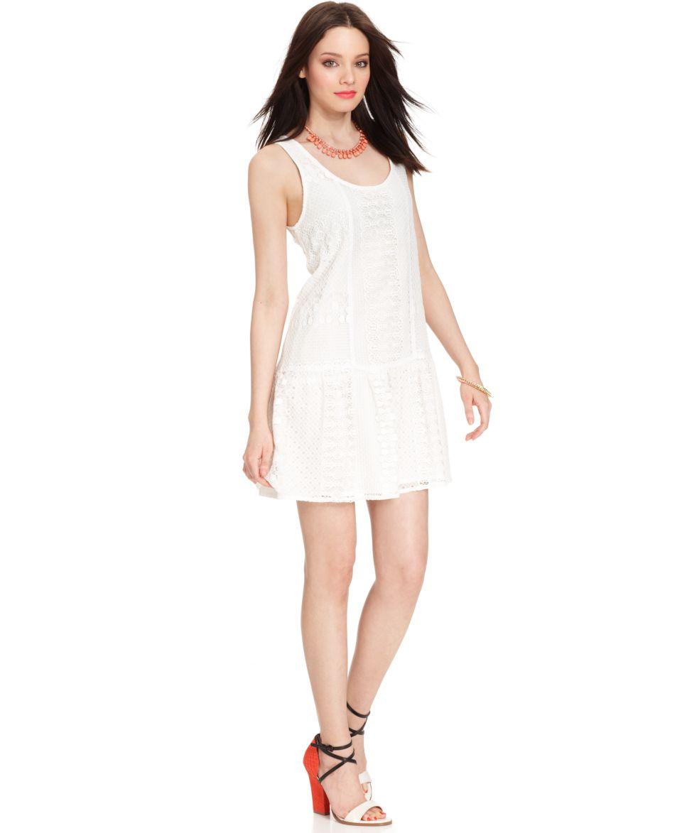 Sanctuary Dress, Sleeveless Scoop Neck Lace   Dresses   Women