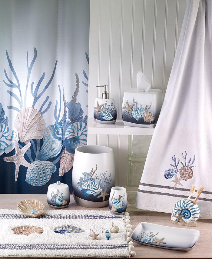 Avanti Blue Lagoon Bath Collection Reviews Bathroom Accessories Bed Macy S