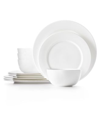 Hotel Collection Dinnerware, Bone China 12 Piece Set