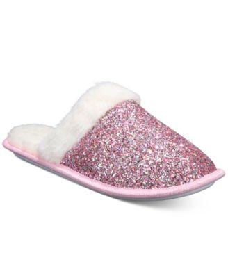 Jenni Women's Glitter Slippers With