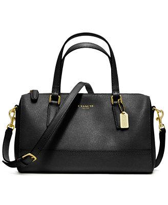 coach saffiano leather mini satchel coach handbags