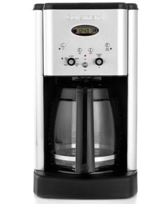 Cuisinart Coffee Maker Dcc 500 : Cuisinart DCC500 12-Cup Programmable Coffee Maker - Coffee, Tea & Espresso - Kitchen - Macy s
