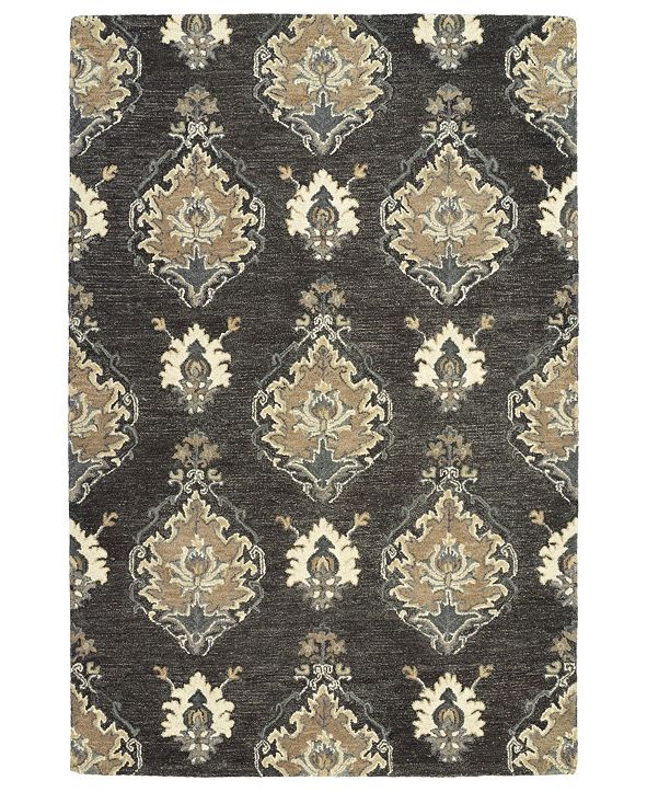 Kaleen Brooklyn 5306-38 Charcoal 8' x 11' Area Rug