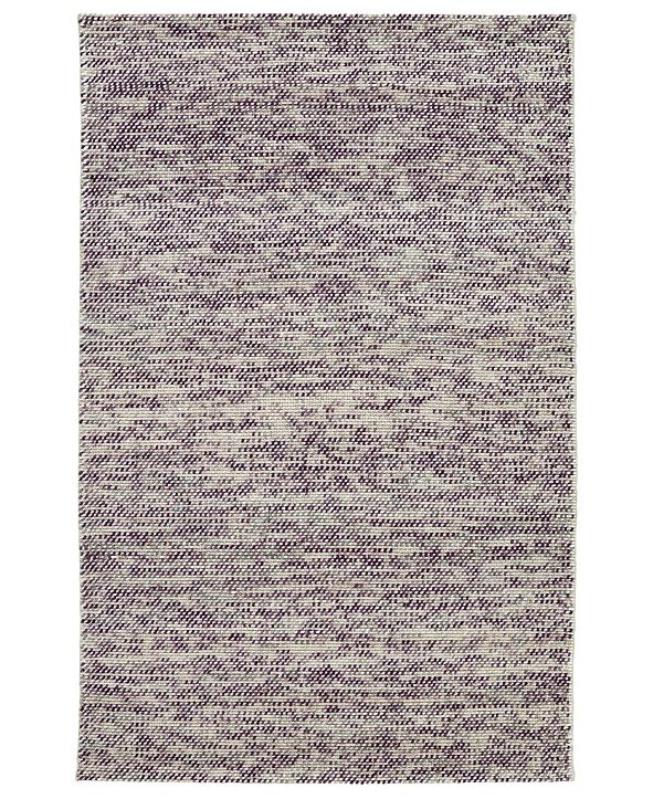 "Kaleen Cord CRD01-95 Purple 5' x 7'6"" Area Rug"