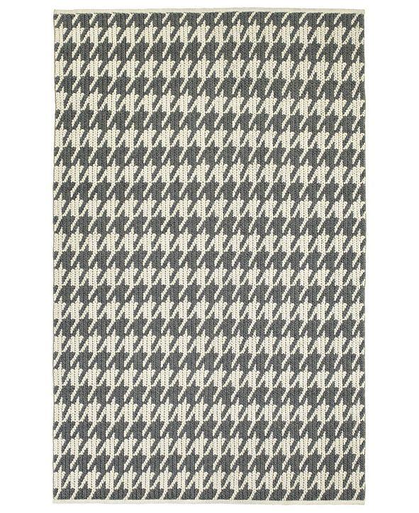 Kaleen Paracas PRC04-68 Graphite 8' x 10' Area Rug