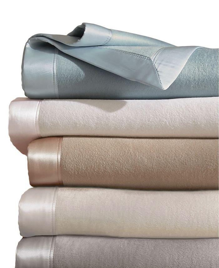 MELANGE HOME - Plaza Silk Blanket With 100% Silk Border