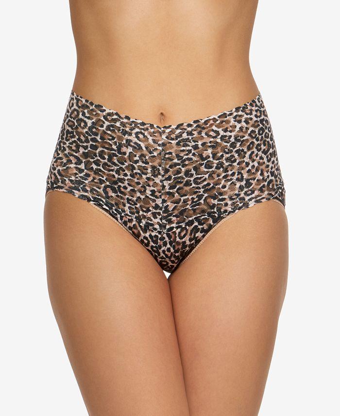 Hanky Panky - Women's High-Waist Leopard-Print Brief 2X2124