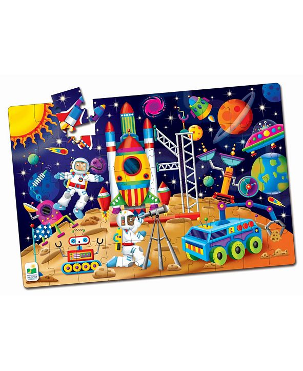 The Learning Journey Jumbo Floor Puzzles- Out In Space