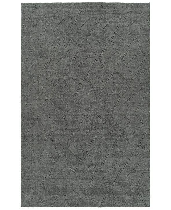 Kaleen Minkah MKH04-38 Charcoal 5' x 7' Area Rug