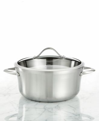 Calphalon Contemporary Stainless Steel 6.5 Qt. Covered Soup Pot
