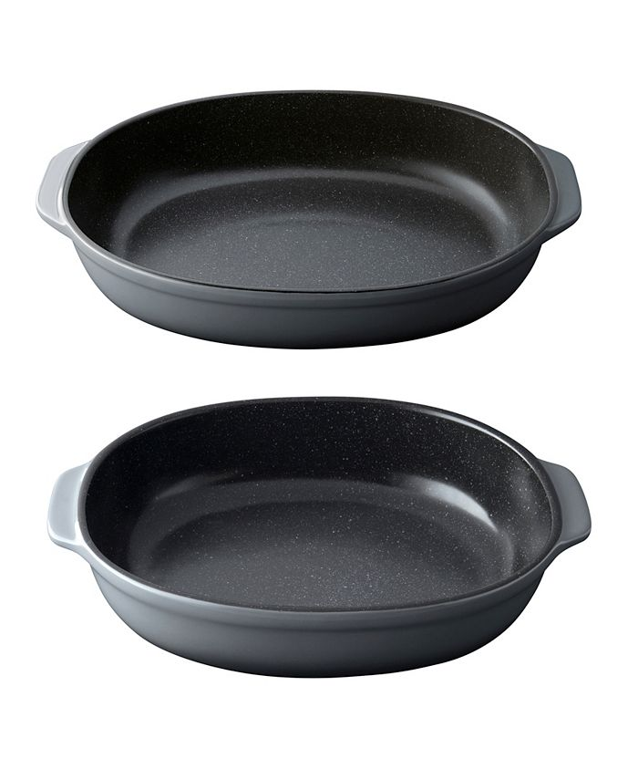BergHOFF - Gem Collection Stoneware Set of 2 Oval Baking Dishes