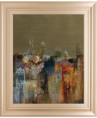 "Penthouse View I by Douglas Framed Print Wall Art - 22"" x 26"""