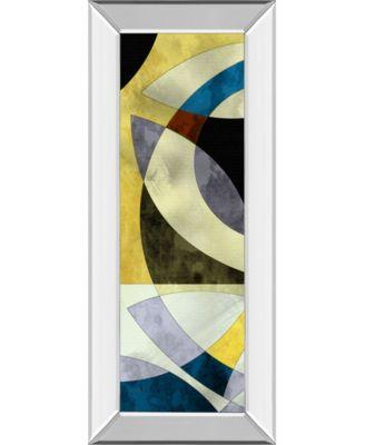 Elliptic Path I by James Burghardt Framed Print Wall Art - 18