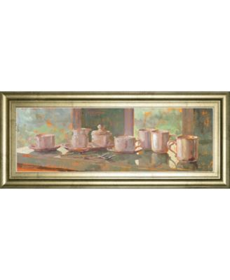 """Gathering Il by Lorraine Vail Framed Print Wall Art - 18"""" x 42"""""""