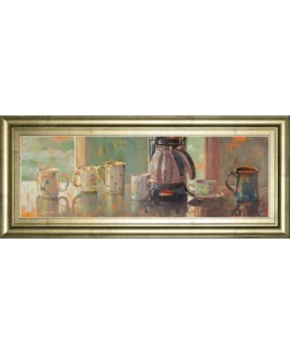 """Gathering I by Lorraine Vail Framed Print Wall Art - 18"""" x 42"""""""