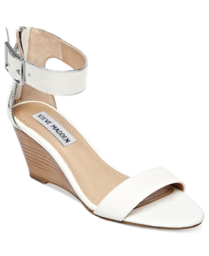 Steve Madden Womens Shoes Nancy Demi Wedge Sandals Womens Shoes