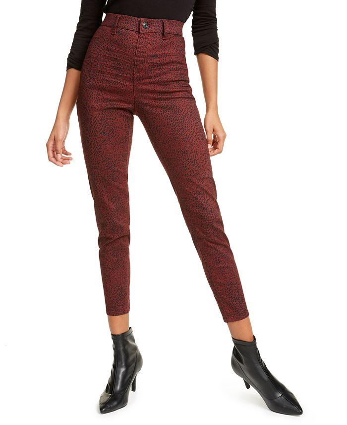 Vanilla Star - Juniors' Snakeskin Print Jeans