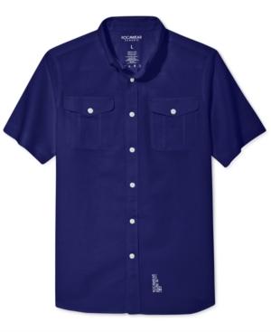 Rocawear Shirt Linen Field Short Sleeves Shirt