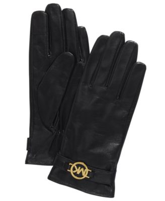 Leather Ornament Gloves