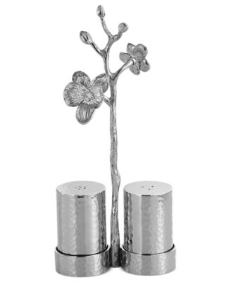 Michael Aram White Orchid Salt and Pepper Shakers