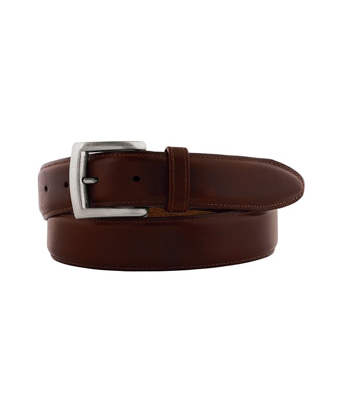 Johnston & Murphy Waxed Leather Belt