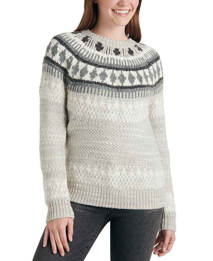 Lucky Brand - Fair Isle Knit Sweater