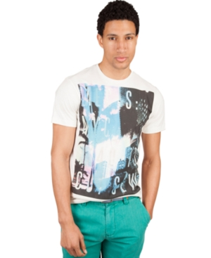 Marc Ecko Cut  Sew Shirts Short Sleeve Malibu Metropolis Graphic T Shirt