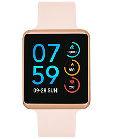 iTouch Women's Air Blush Silicone Strap Touchscreen Smart Watch 35x41mm - A Special Edition