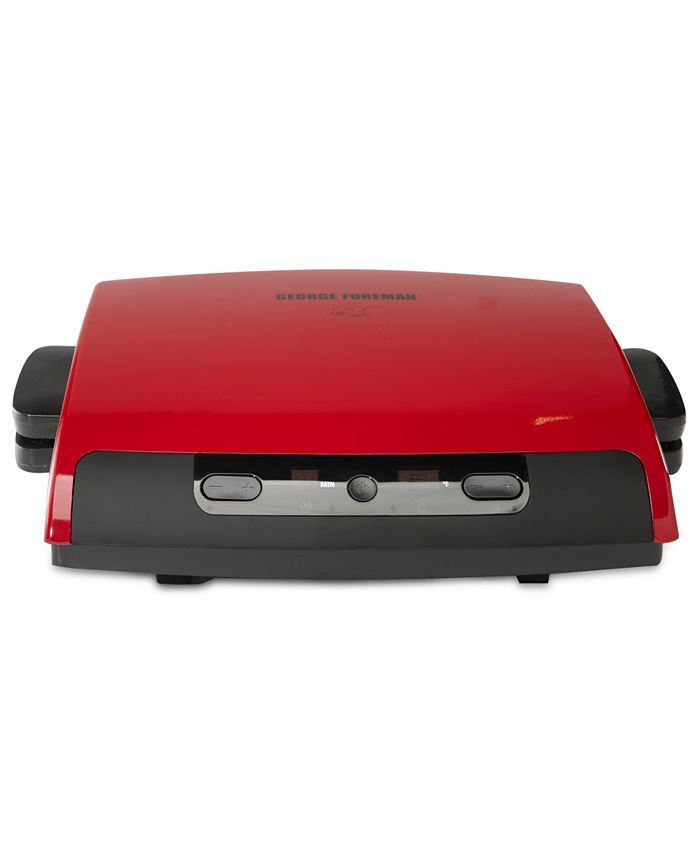 George Foreman - GRP95R Grill, 6 Servings