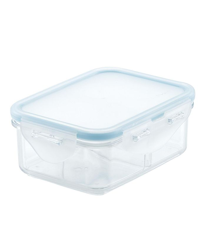 Lock n Lock - Rectangular Food Storage Container with Divider, 12-Ounce