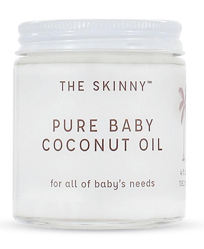 Skinny & Co. Pure Baby Coconut Oil, 4oz