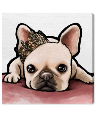 Royal Frenchie Canvas Art, 16
