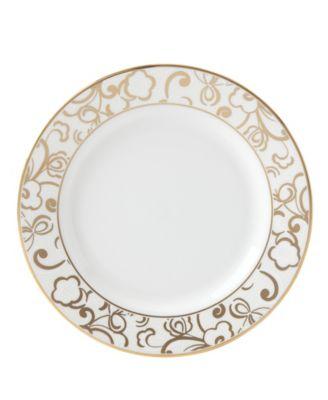 Venetian Lace Gold Butter Plate