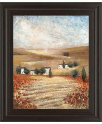 "Hilltown Lanscanadian Art Prints Inc. E I by Rosie Abrahams Framed Print Wall Art, 22"" x 26"""