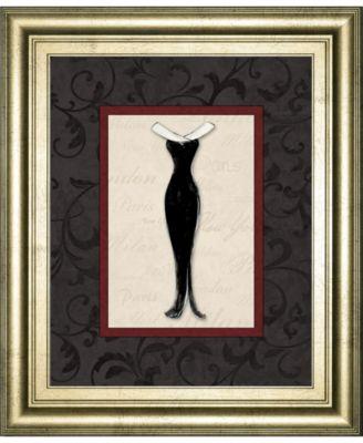 """Fashion Dress I by Susan Osbourne Framed Print Wall Art, 22"""" x 26"""""""
